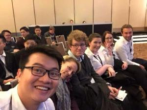 FedUni ENACTUS selfie - From left: Lee, Deb, Dylan, Jess, Jane, Ben.